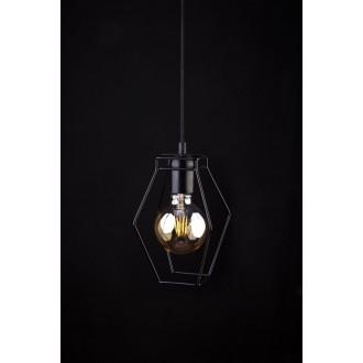 NOWODVORSKI 9670 | Fiord Nowodvorski visiace svietidlo 1x E27 čierna