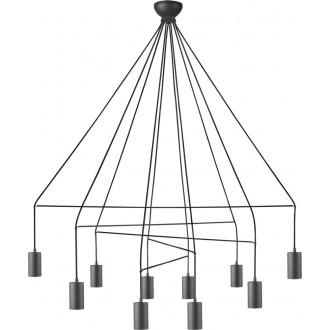 NOWODVORSKI 9680 | Imbria Nowodvorski visiace svietidlo 10x GU10 čierna