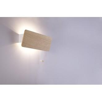 NOWODVORSKI 9700 | OsloN Nowodvorski stenové svietidlo prepínač na ťah otočné prvky 1x E14 natur, biela