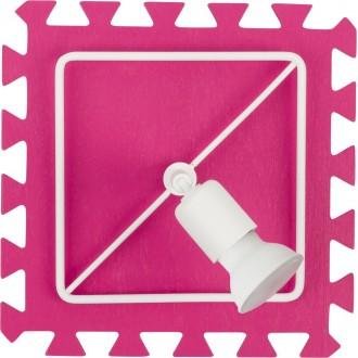 NOWODVORSKI 9727   Blocks Nowodvorski stenové, stropné svietidlo otočné prvky 1x GU10 ružové