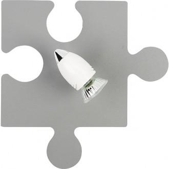 NOWODVORSKI 9730 | Puzzle Nowodvorski stenové, stropné svietidlo otočné prvky 1x GU10 sivé