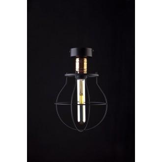 NOWODVORSKI 9741 | Manufacture Nowodvorski stropné svietidlo 1x E27 čierna, mosadz