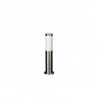 PHILIPS 01908/01/47 | Utrecht Philips stojaté svietidlo 44cm navrhované na úsporné žiarovky 1x E27 IP44 nerez, biela