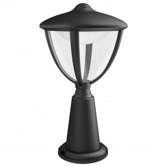 PHILIPS 15472/30/16 | Robin Philips stojaté svietidlo 33,5cm 1x LED 430lm 2700K IP44 čierna, biela, priesvitné