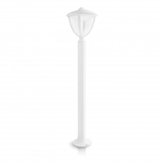 PHILIPS 15473/31/16 | Robin Philips stojaté svietidlo 85,5cm 1x LED 430lm 2700K IP44 biela, priesvitné