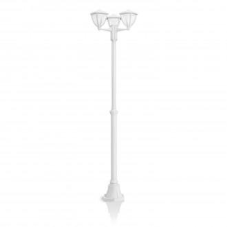 PHILIPS 15475/31/16 | Robin Philips stojaté svietidlo 191,7cm 3x LED 1290lm 2700K IP44 biela, priesvitné