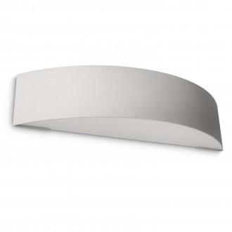 PHILIPS 17130/87/16 | Patch Philips stenové svietidlo 1x E27 1100lm 2700K IP44 svetlo šedá