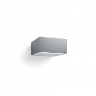 PHILIPS 17337/87/PN | Hedgehog Philips stenové svietidlo štvoruholník 1x E27 IP44 svetlo šedá, biela