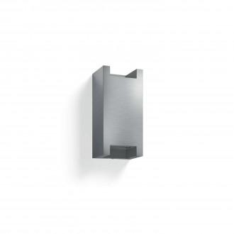 PHILIPS 17339/48/PN | Trowel Philips stenové svietidlo štvoruholník 2x GU10 IP44 hliník