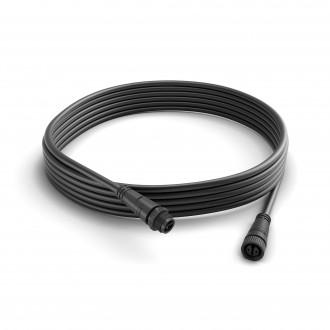 PHILIPS 17424/30/PN | Philips spojovací kábel hue múdre osvetlenie IP67 čierna