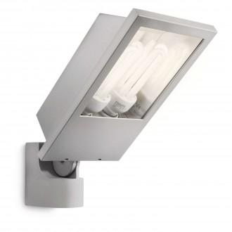 PHILIPS 17515/87/16 | Botanic Philips svetlomet svietidlo 2x E27 2860lm 2700K IP44 svetlo šedá