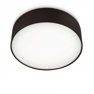 PHILIPS 30175/30/16   Velour Philips stenové, stropné svietidlo 2x E27 2860lm 2700K čierna, biela