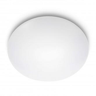 PHILIPS 31801/31/16 | Suede Philips stenové, stropné svietidlo 4x LED 1100lm 2700K biela