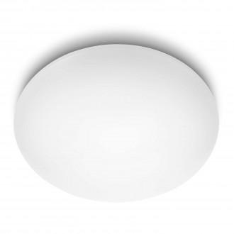 PHILIPS 31803/31/16 | Suede Philips stenové, stropné svietidlo 4x LED 3200lm 2700K biela