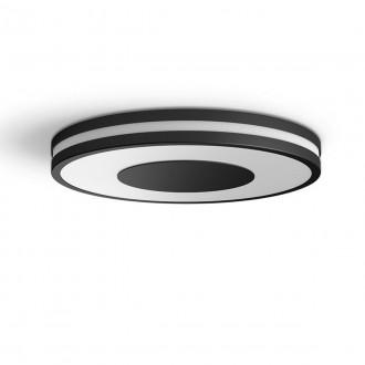 PHILIPS 32610/30/P6 | PHILIPS-hue-Being Philips stropné hue DIM prenosný vypínač + hue múdre osvetlenie kruhový diaľkový ovládač regulovateľná intenzita svetla, nastaviteľná farebná teplota, Bluetooth 1x LED 2400lm 2200 <-> 6500K čierna, biela