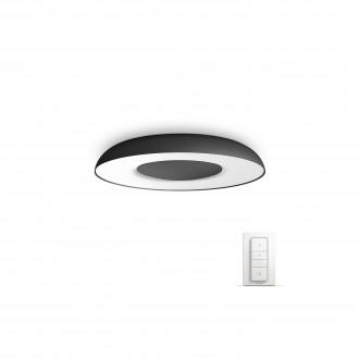 PHILIPS 32613/30/P7   PHILIPS-hue-Still Philips stropné hue múdre osvetlenie kruhový diaľkový ovládač regulovateľná intenzita svetla, nastaviteľná farebná teplota 1x LED 2400lm 2200 <-> 6500K čierna, biela