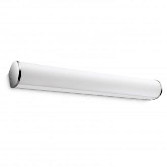 PHILIPS 34059/11/16 | Fit Philips stenové svietidlo 3x LED 560lm 2700K IP44 chróm, biela