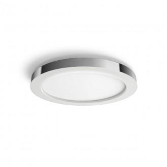 PHILIPS 34184/11/P6 | PHILIPS-hue-Adore Philips stropné hue DIM prenosný vypínač + hue múdre osvetlenie kruhový diaľkový ovládač regulovateľná intenzita svetla, meniace farbu, nastaviteľná farebná teplota, Bluetooth 1x LED 2400lm 2200 <-> 6500K IP44