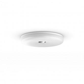 PHILIPS 34189/31/P6 | PHILIPS-hue-Struana Philips stropné hue DIM prenosný vypínač + hue múdre osvetlenie kruhový diaľkový ovládač regulovateľná intenzita svetla, nastaviteľná farebná teplota, Bluetooth 1x LED 2400lm 2200 <-> 6500K IP44 biela