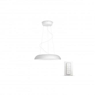 PHILIPS 40233/31/P7   PHILIPS-hue-Amaze Philips visiace hue múdre osvetlenie kruhový diaľkový ovládač regulovateľná intenzita svetla, nastaviteľná farebná teplota 1x LED 3000lm 2200 <-> 6500K biela
