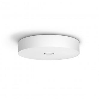 PHILIPS 40340/31/P6 | PHILIPS-hue-Fair Philips stropné hue DIM prenosný vypínač + hue múdre osvetlenie kruhový diaľkový ovládač regulovateľná intenzita svetla, nastaviteľná farebná teplota, Bluetooth 1x LED 3000lm 2200 <-> 6500K biela