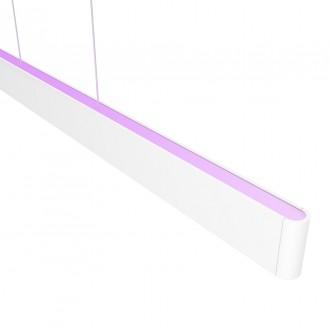 PHILIPS 40903/31/P9 | PHILIPS-hue-Ensis Philips visiace hue múdre osvetlenie regulovateľná intenzita svetla, meniace farbu, nastaviteľná farebná teplota, Bluetooth 2x LED 6000lm 2200 <-> 6500K biela