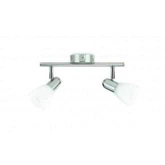 PHILIPS 50232/17/E7 | Burlap Philips stenové, stropné svietidlo otočné prvky 2x E14 chrom, matné, biela