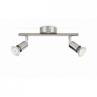 PHILIPS 50302/17/E7 | Limbali Philips stenové, stropné svietidlo otočné prvky 2x GU10 chrom, matné