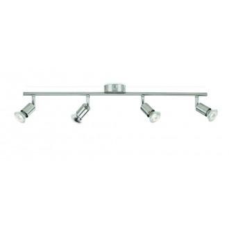 PHILIPS 50304/17/E7 | Limbali Philips stenové, stropné svietidlo otočné prvky 4x GU10 chrom, matné