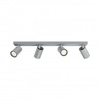 PHILIPS 50594/48/PN | Kosipo Philips stenové, stropné svietidlo kruhový otočné prvky 4x GU10 hliník