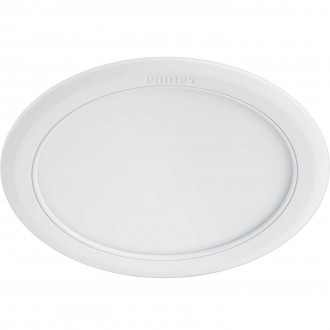 PHILIPS 59529/31/P1 | Marcasite Philips zabudovateľné LED panel kruhový Ø210mm 1x LED 2100lm 3000K biela