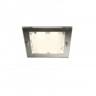 PHILIPS 59791/17/10 | Lava2 Philips zabudovateľné svietidlo navrhované na úsporné žiarovky 163x163mm 2x E27 chrom, matné