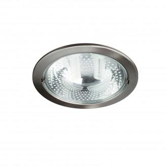 PHILIPS 59799/17/10 | Ronda1 Philips zabudovateľné svietidlo navrhované na úsporné žiarovky Ø230mm 2x E27 chrom, matné