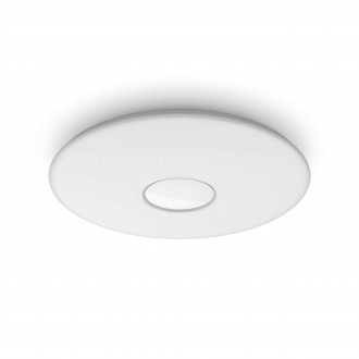 PHILIPS 61083/31/P5 | Haraz Philips stropné svietidlo kruhový diaľkový ovládač regulovateľná intenzita svetla, nastaviteľná farebná teplota 1x LED 2800lm 2700 - 4000 - 6500K biela