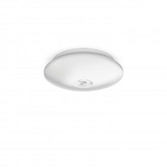 PHILIPS 62233/31/P0 | Mauve Philips stenové, stropné svietidlo pohybový senzor 4x LED 600lm 2700K biela
