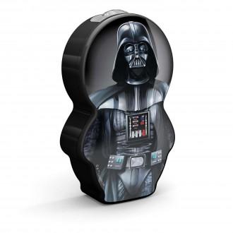 PHILIPS 71767/98/16 | Star-Wars-Darth-Vader Philips prenosné baterka prepínač 1x LED 5lm 2700K čierna, viacferebné