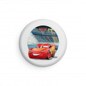 PHILIPS 71884/32/P0 | Cars Philips stenové, stropné svietidlo 4x LED 900lm 2700K červená, viacferebné, biela