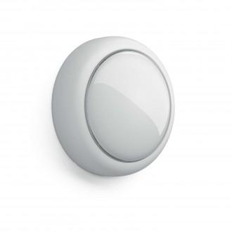 PHILIPS 71924/31/P0 | Shelf_Battery Philips stenové svietidlo prepínač 1x LED 5lm 2700K biela