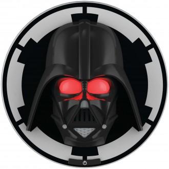 PHILIPS 71936/30/P0 | Star-Wars-Darth-Vader Philips stenové svietidlo prepínač 1x LED 2700K čierna, červená