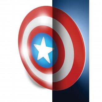 PHILIPS 71940/32/P0 | Captain_America Philips stenové svietidlo prepínač 1x LED + 4x LED 2700K červená, biela, modrá