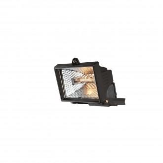 PHILIPS 74902/21/30 | Faro Philips svetlomet svietidlo 1x R7s IP44 čierna