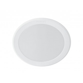 PHILIPS 8718696173589 | Meson Philips zabudovateľné LED panel kruhový Ø95mm 1x LED 550lm 6500K biela