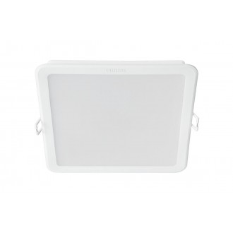 PHILIPS 8718696173695 | Meson Philips zabudovateľné LED panel štvorec 165x165mm 1x LED 1750lm 4000K biela