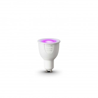 PHILIPS 8718696485880 | GU10 6,5W Philips spot LED svetelný zdroj hue múdre osvetlenie 250lm 2200 <-> 6500K regulovateľná intenzita svetla, meniace farbu 160° CRI>80