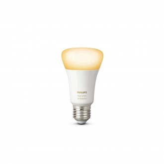 PHILIPS 8718696548738 | E27 9,5W Philips normálne A19 LED svetelný zdroj hue múdre osvetlenie 806lm 2200 <-> 6500K regulovateľná intenzita svetla, nastaviteľná farebná teplota 160° CRI>80