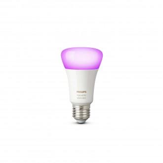 PHILIPS 8718696592984 | E27 10W Philips normálne A19 LED svetelný zdroj hue múdre osvetlenie 806lm 2200 <-> 6500K regulovateľná intenzita svetla, meniace farbu 160° CRI>80