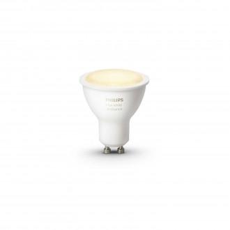 PHILIPS 8718696598283 | GU10 5,5W Philips spot LED svetelný zdroj hue múdre osvetlenie 250lm 2200 <-> 6500K regulovateľná intenzita svetla, nastaviteľná farebná teplota 45° CRI>80