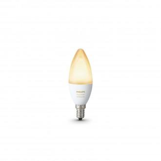 PHILIPS 8718696695203 | E14 6W Philips sviečka B39 LED svetelný zdroj hue múdre osvetlenie 470lm 2200 <-> 6500K regulovateľná intenzita svetla, nastaviteľná farebná teplota