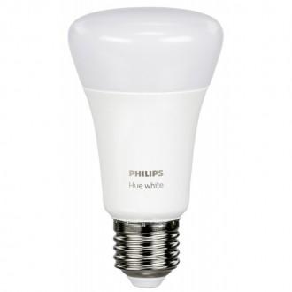 PHILIPS 8718696785218   PHILIPS-hue Philips štartovací balíček hue riadiaca jednotka + 2x E27 A60 hue LED svetelný zdroj múdre osvetlenie normálne A60 regulovateľná intenzita svetla, Bluetooth, 2 dielna súprava 2x E27 806lm 2700K biela