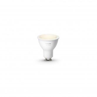 PHILIPS 8718699605513 | GU10 5,5W Philips spot LED svetelný zdroj hue múdre osvetlenie 300lm 2700K regulovateľná intenzita svetla 46° CRI>80